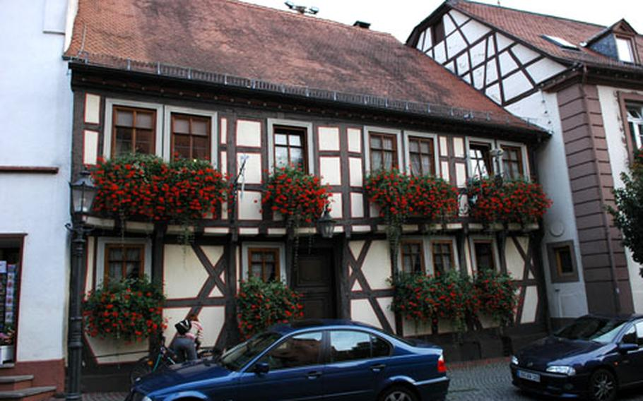 The town's oldest building dates to the middle of the 15th century. It is one of several half-timbered structures still used as residences or businesses in the town.