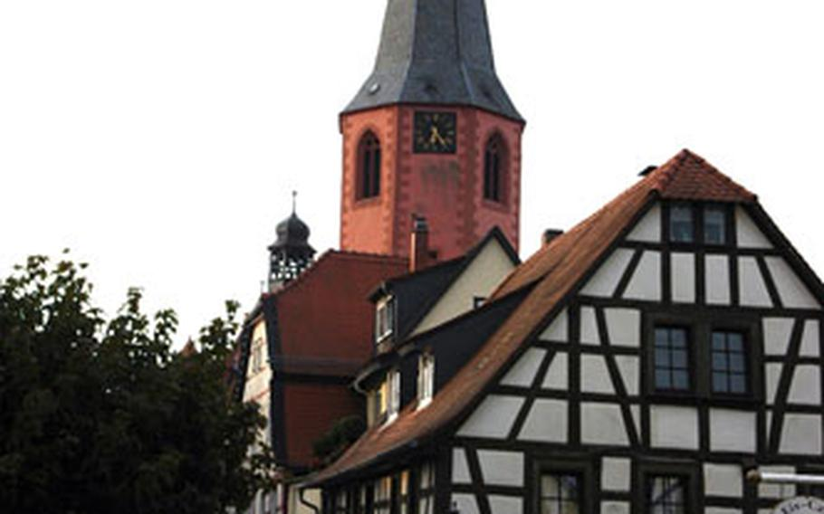 This 16th-century church is a big part of Michelstadt's charm.