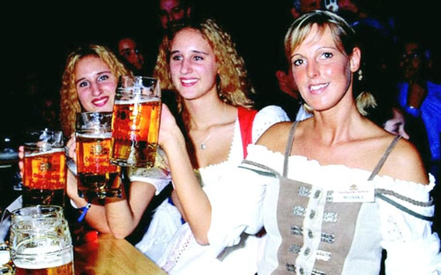 The Canstatter Volkfest features five huge beer tents with live music, 1-liter mugs of Stuttgart-made brew and thousands of revelers.