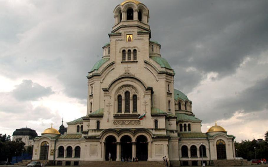 The Alexander Nevski Memorial Church in the center of Sofia boasts some of the most impressive architecture of its time in the Balkans.