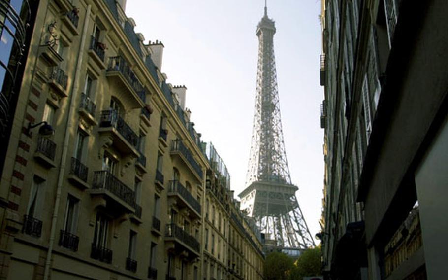 The Eiffel Tower.