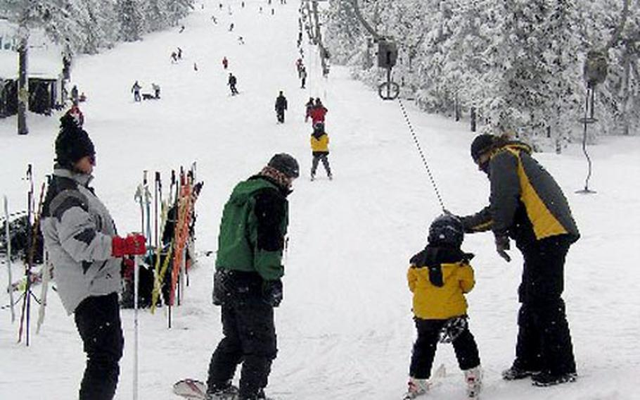 Poma lifts prevail at resorts in the eastern part of the Czech Republic, but all are not as skier-friendly as this one.