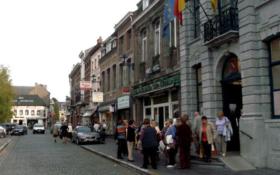 The city center of Chimay features cobblestone streets, small shops and cozy restaurants.