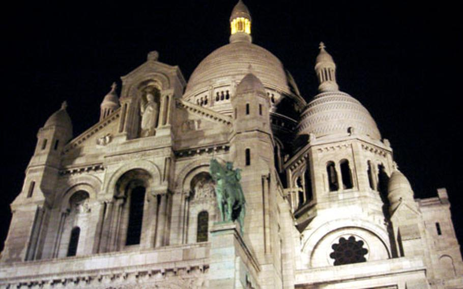 No trip to Montmartre is complete without a walk to the Sacré Coeur, a glorious arabesque cathedral that offers a spectacularly romantic view of the city.