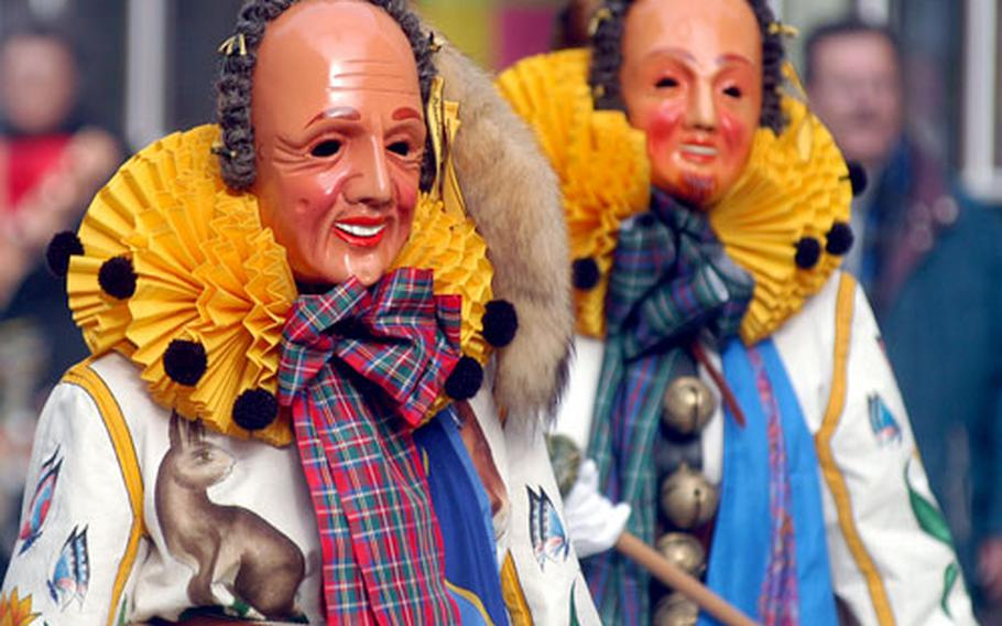 The Hansels are the largest group of Narren (fools) in the Schramberg carnival celebrations. On the Sunday before Ash Wednesday, the Schramberg Fasnet guilds march in a parade known as the Schramberger Hanselsprung.