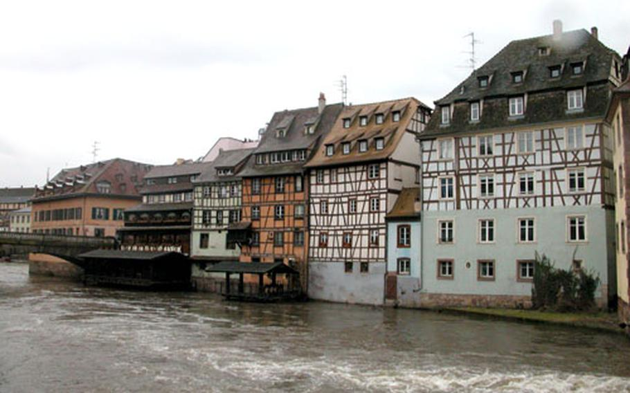 The Petite France quarter of Strasbourg is a throwback to medieval times.