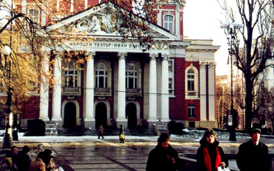 A theater named after Bulgaria's famous novelist and playwright, Ivan Vasov, is located in the city's pleasant park.