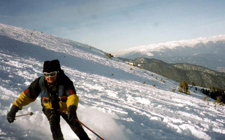 When the snow falls, skiers go off-piste in search of powder and challenge.