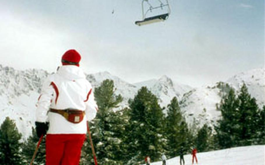 In addition to the gondolas, Bansko slopes are accessible primarily by chairlifts, with a few short T-bars.