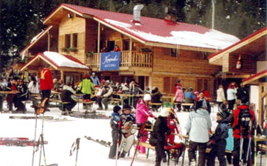 Restaurant facilities on the slopes of the Bansko resort offer Bulgarian specialties at reasonable prices.