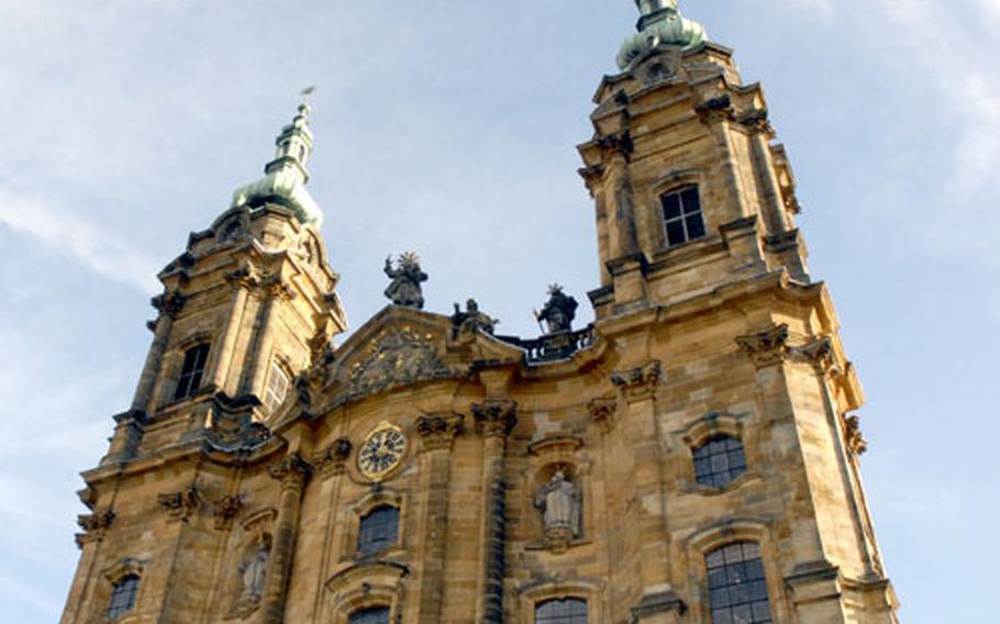 "The Basilica Vierzehnheiligen near Bad Staffelstein, Germany, was named for Catholicism's ""Fourteen Holy Helper"" saints."