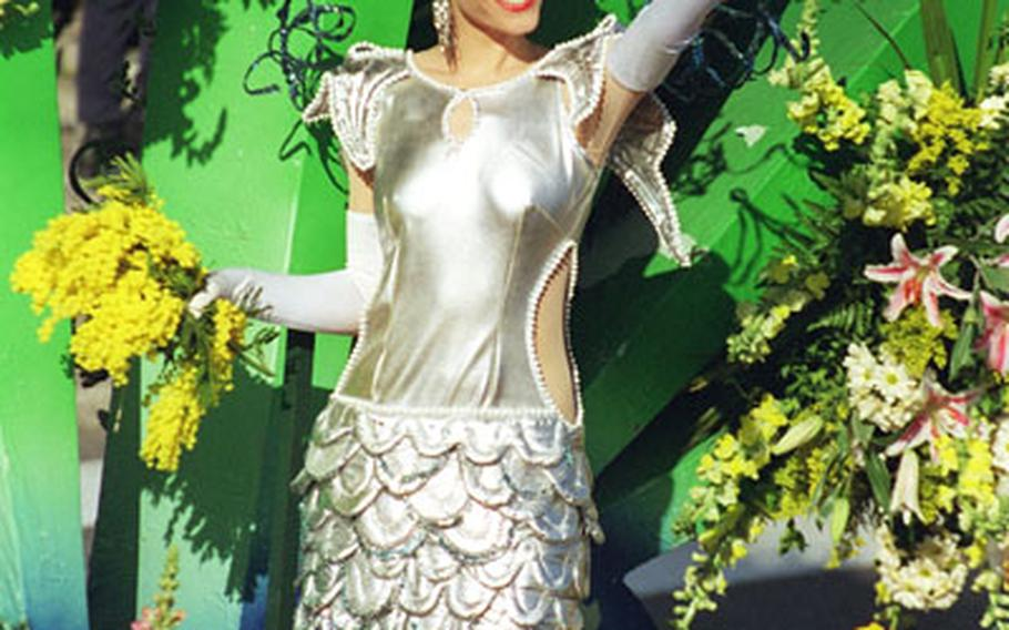 This year's Battle of Flowers in Nice, France, will be held Feb. 16. The event is part of Nice's carnival celebrations.