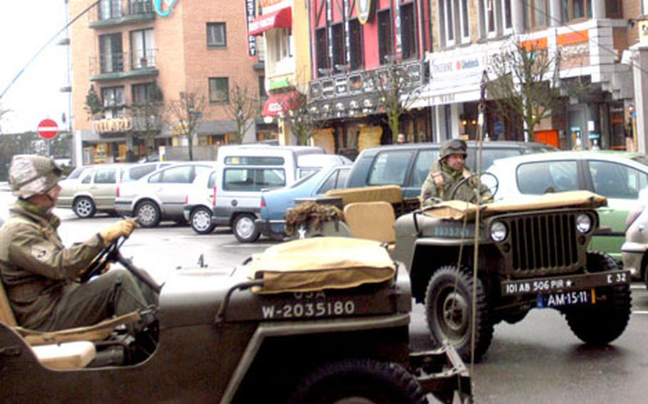 At major commemorative events, a visitor can always count on seeing dozens of World War II vehicles tooling around town and the backroads around Bastogne, Belgium.