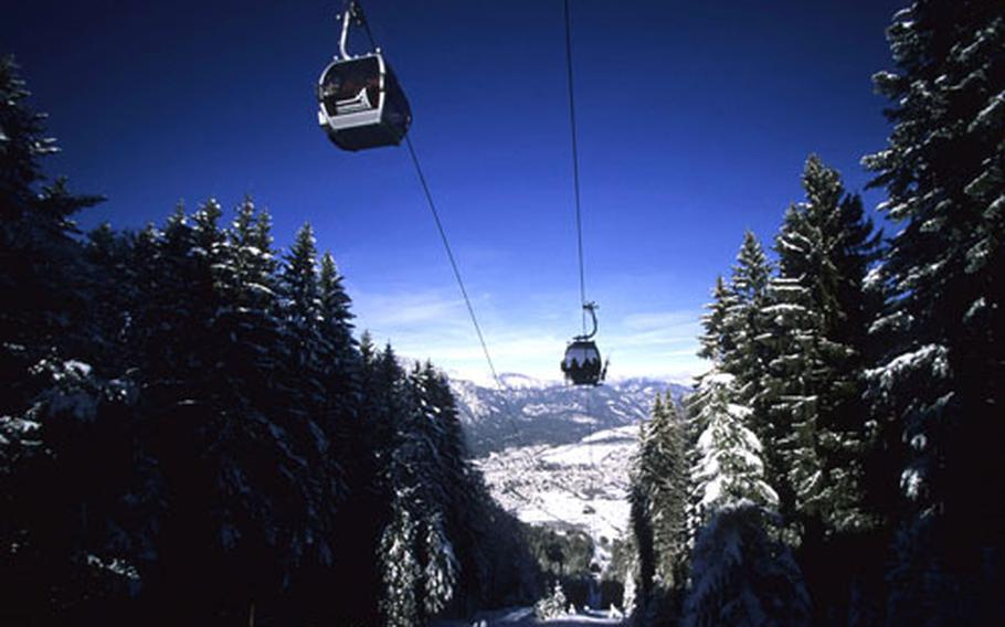 Germany's, newest asset, the Hausbergbahn lift, opened in 2006. It transports up to 2,400 skiers an hour.