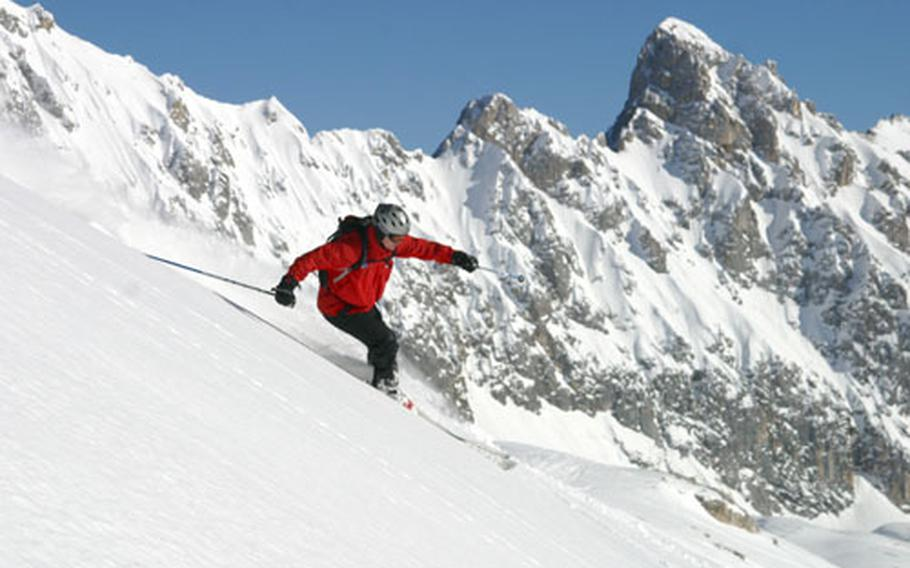 The Edelweiss Lodge and Resort sits at the foot of the craggy Zugspitze, Germany's highest peak.