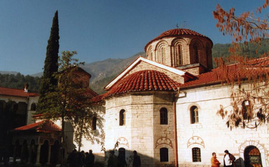 The Bachkovo Monastery, just a half hour from Plovdiv, is the second largest monastery in Bulgaria and a popular tourist destination.