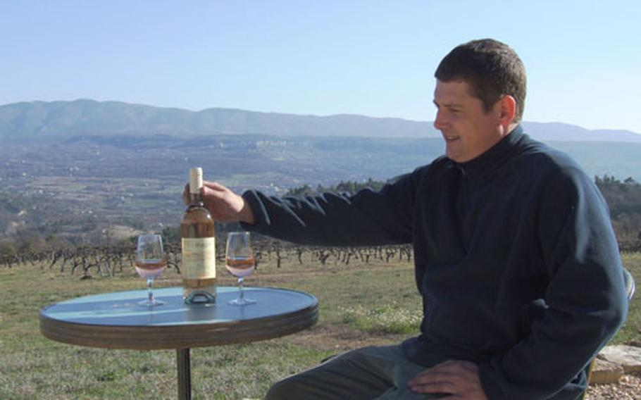 """Alexandre Leclercq of the Domaine du Puy Marquis in Apt, France, says he has noticed an increase in the popularity of rosé wines in the last three years. Rosé, he says, is """"convivial in summer."""""""