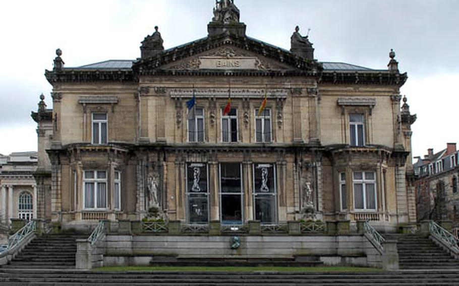 The old bath house in Spa, Belgium, is no longer used, as the baths are now in modern facilities. Spa gave the English language its name for a health resort.