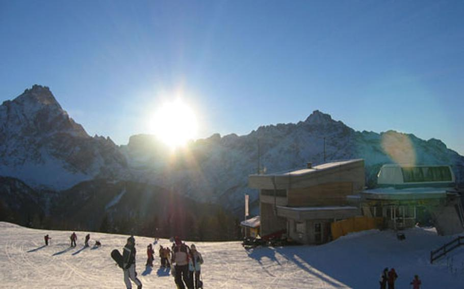 Small crowds and reasonable prices make Bad Moos a wonderful ski destination.