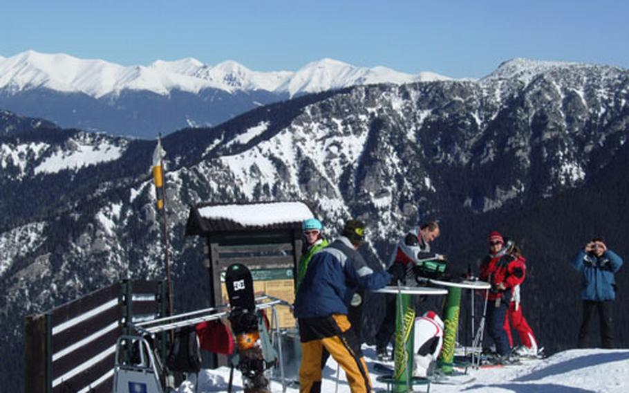 Jasná, the best and biggest of the Slovakian resorts, offers a variety of slopes for skiers and boarders.