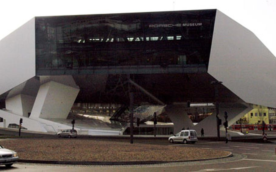The new Porsche Museum, located at Porsche Platz in Stuttgart, opened its doors in late January. The 5-acre complex houses vehicles that trace the design history of the famous sports car manufacturer.