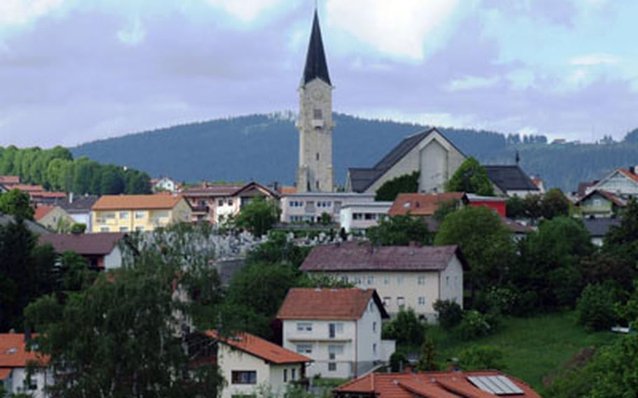 The Bavarian Forest was once the poorest region in Germany. Today it's home to numerous pretty and prosperous villages.