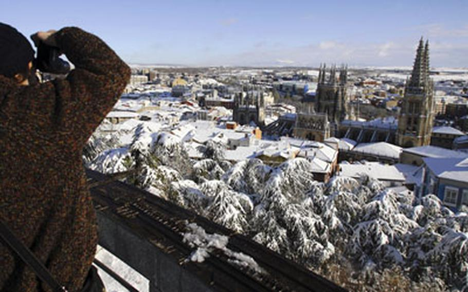 A photographer finds Burgos, Spain, irresistible after a heavy snow storm.