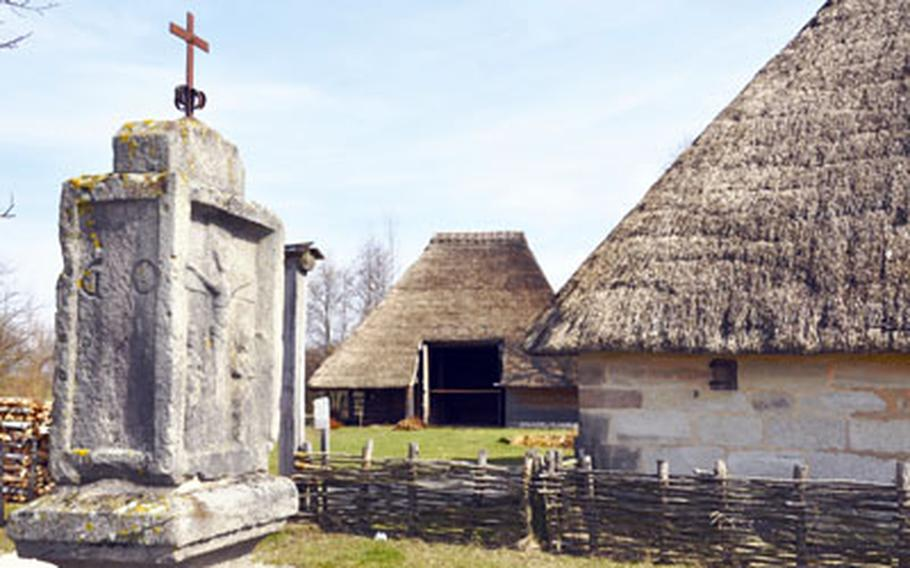 This medieval farmhouse complex includes some of the oldest farmhouses to be found in the whole of Central Europe. Though the buildings have been 50 percent reconstructed, they date back to 1368.