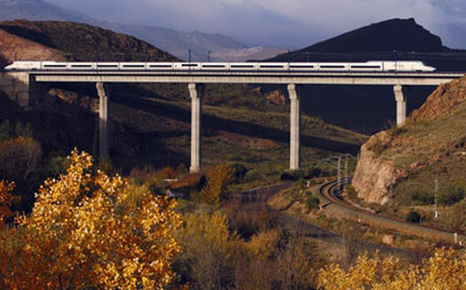 """Spain's AVE trains (""""Alta Velocidad Espanola"""") proved so successful that by the end of this year Spanish rail (Renfe) officials say they will have more high-speed track than any other nation."""