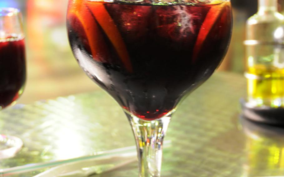 Can't visit Spain with taking in a glass of its famous Sangria. Oh so good.