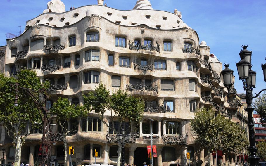 La Pedrera, or Casa Mila, also was designed by Antoni Gaudi, and is marked by is wavy concrete façade and twisted iron balconies. Barcelona has become synonymous with Gaudi and vice versa.