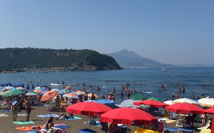 Rent a beach chair and umbrella from one of the harbor-side restaurants to enjoy the sun and surf on Procida. The island has better beaches, consisting of soft sand as opposed to the more pebbly shores found on Capri.