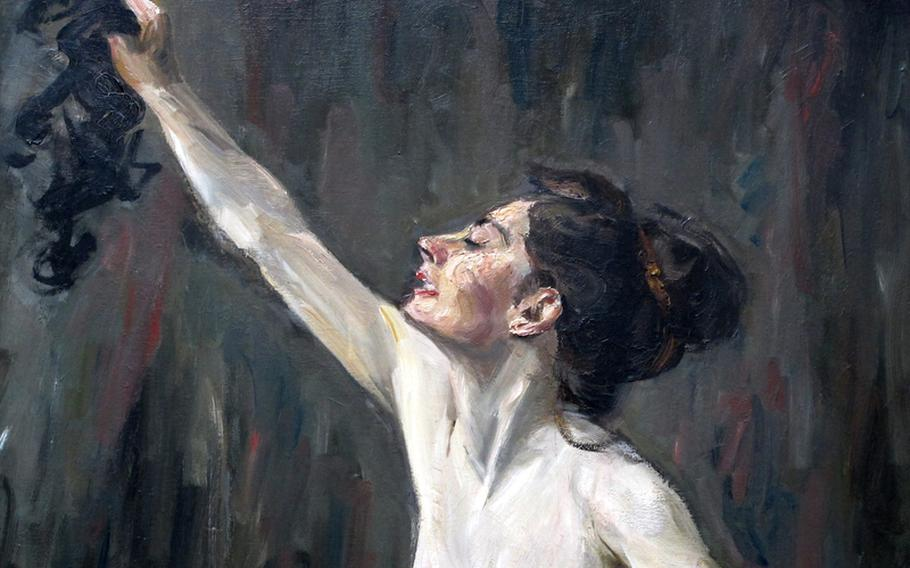 """A detailed look at Max Liebermann's """"Samson and Delilah"""" at Frankfurt, Germany's Städel art museum."""
