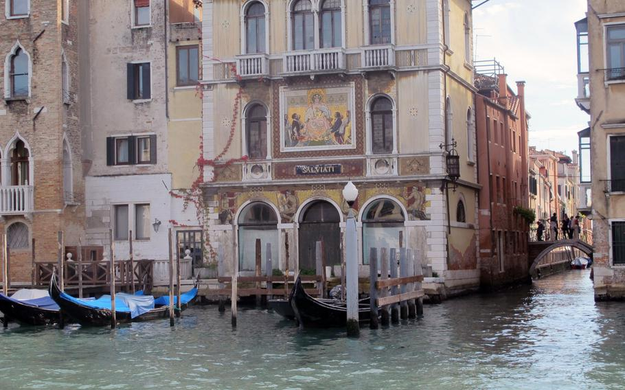 Magical Venice on a Saturday in October --- only an hour, yet worlds away from U.S. Army Garrison Vicenza and Aviano Air Base.