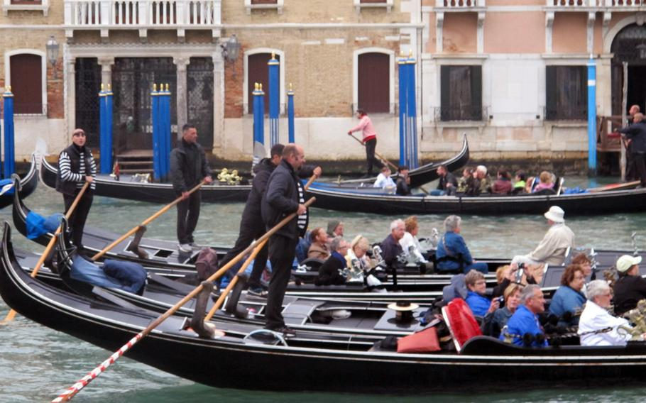 A gondola ride in Venice doesn't come cheap, but many tourists believe it's a must while visiting the city of canals.