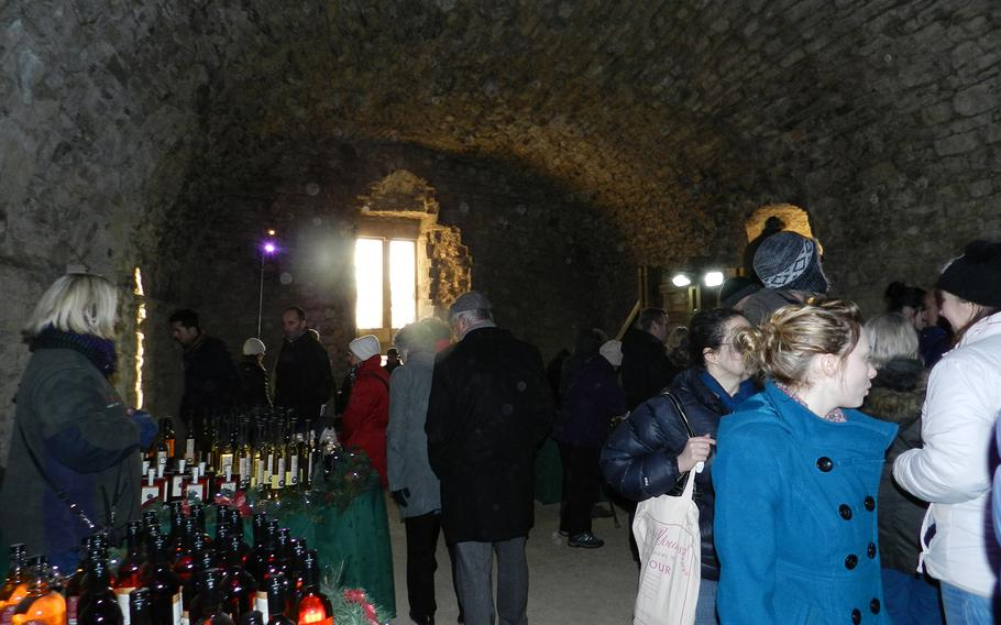 Part of the medieval market in Lincoln, England, was held inside a stone cellar. Here, vendors offered wines, locally made jewelry and other items.