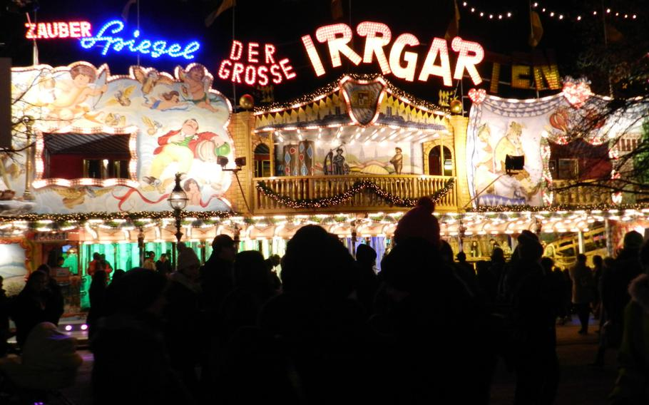 A German labyrinth fun house was a part of last year's Winter Wonderland.
