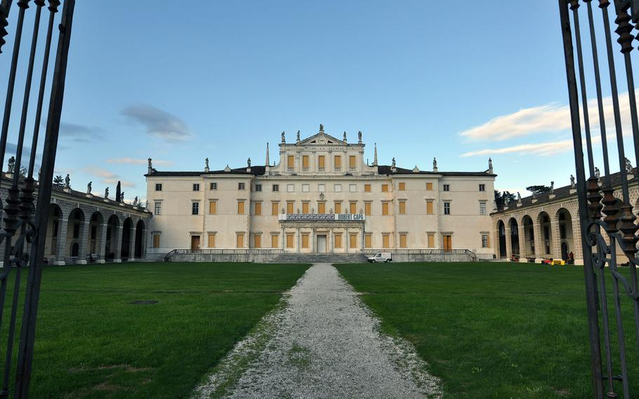 The main complex in Villa Manin is also home to temporary exhibits, such as the current one by famed photographer Robert Capa.