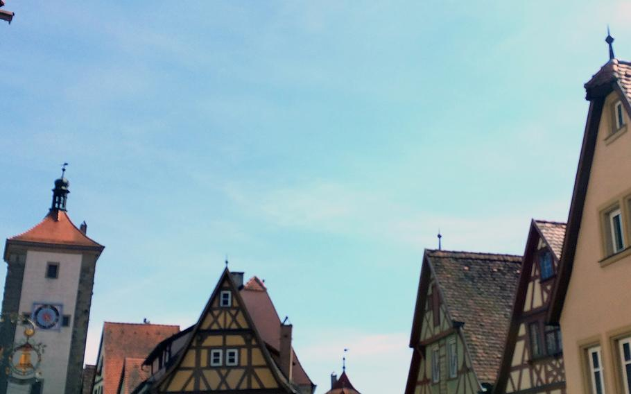 The charming town of Rothenburg ob der Tauber, Germany, offers narrow streets, half-timbered architecture and the fairy-tale setting many tourists are looking for in Europe.