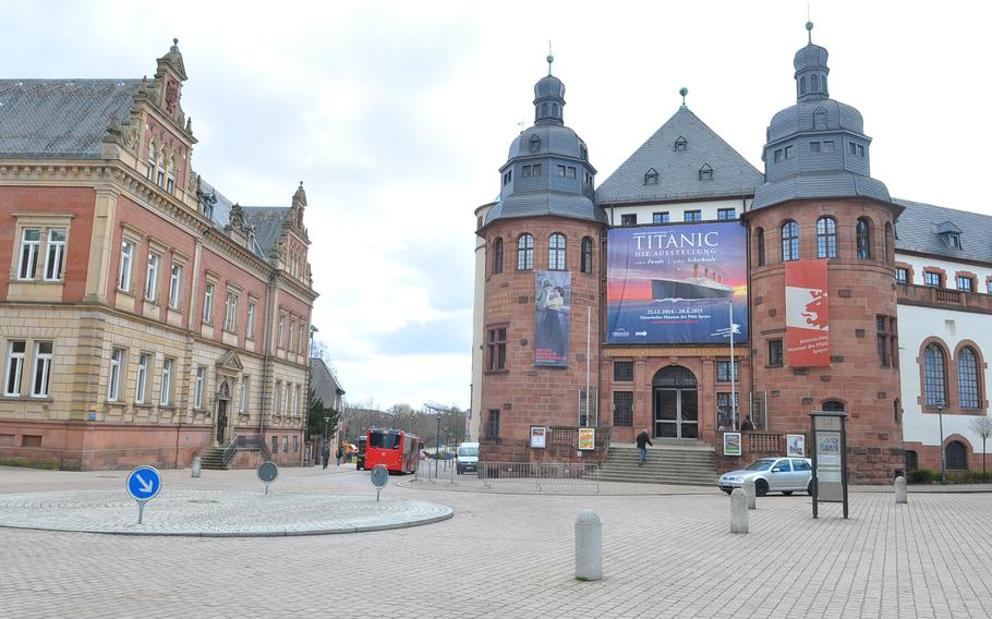 """The Historical Museum of the Palatinate in Speyer, Germany, is located in Cathedral Square across from the Speyer Cathedral. """"Titanic - The Exhibition: Real Discoveries, True Fates""""  includes nearly 250 original artifacts salvaged from the sunken Titanic's wreckage by a series of deep sea expeditions over the years."""