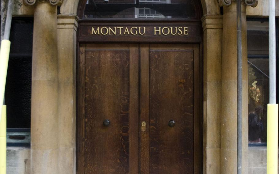 Montagu House is the answer to one of the questions in Treasure Trails' murder mystery tour of Cambridge, England.