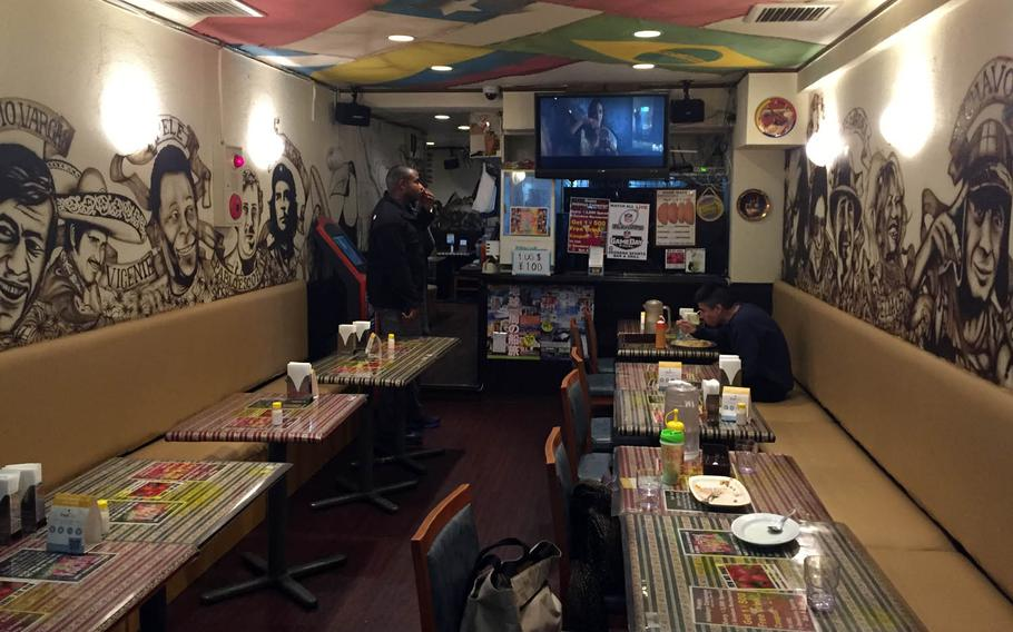 Geodana, a Latin-American eatery in Yokosuka, Japan, offers a variety of Colombian and Peruvian dishes.