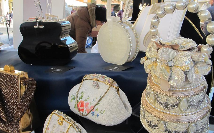 Ever wanted a handbag shaped like a guitar or a wedding cake? Such whimsical delights are available at Vicenza's antiques and collectibles market.