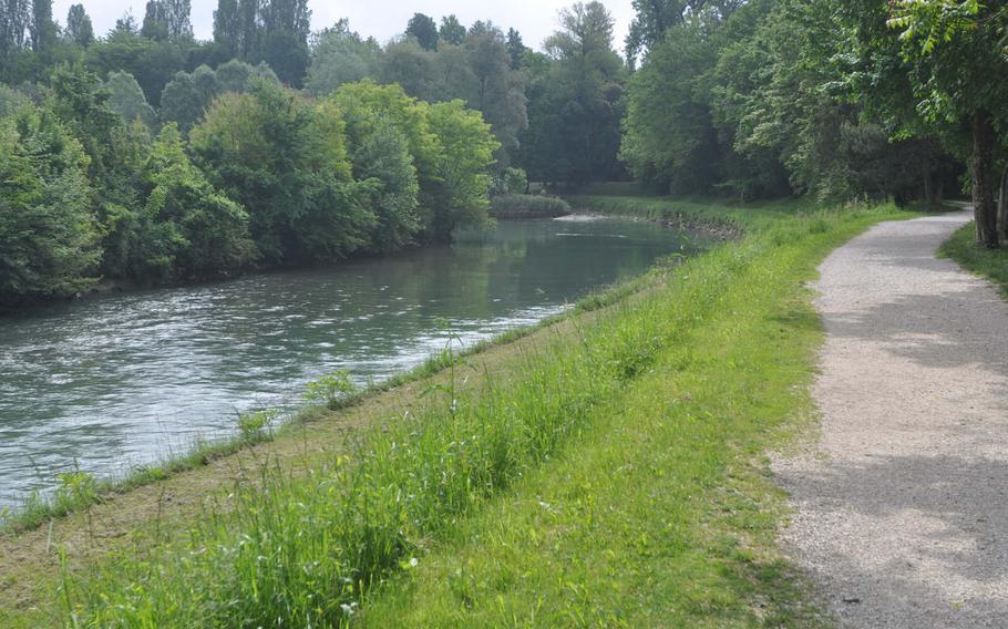 Parco di Villa Varda sits along the banks of the Livenza River just outside Brugnera, Italy.