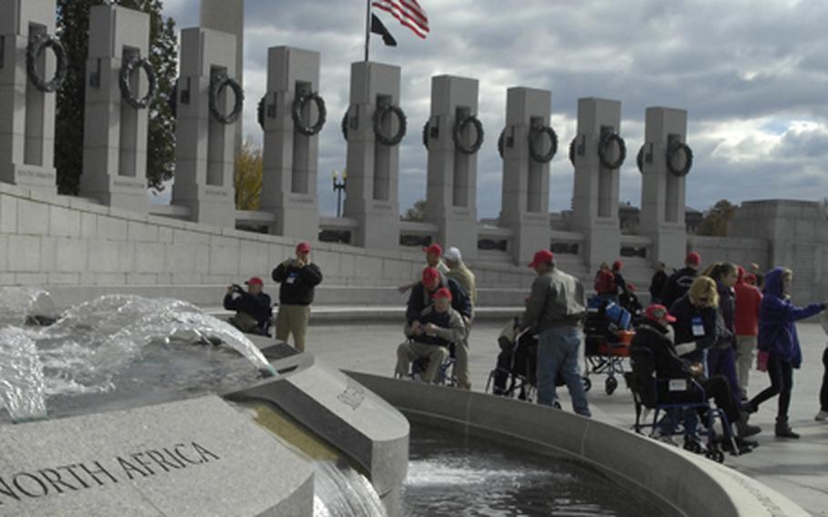 Honor Flight veterans Saturday morning