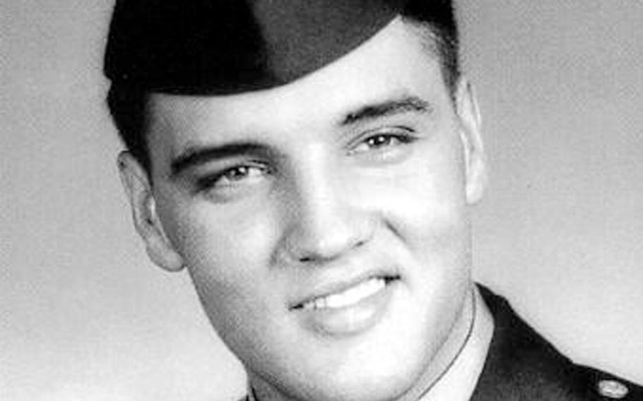 Pvt. Elvis Presley