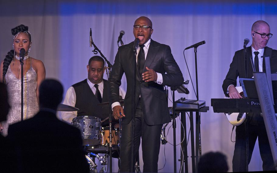 Musical guests during the Veterans Inaugural Ball in Washington, D.C., Jan. 20, 2017.