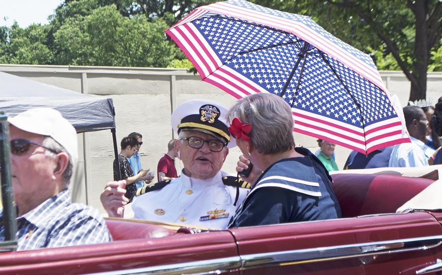 Memorial Day Parade, Washington, D.C., May 29, 2017.