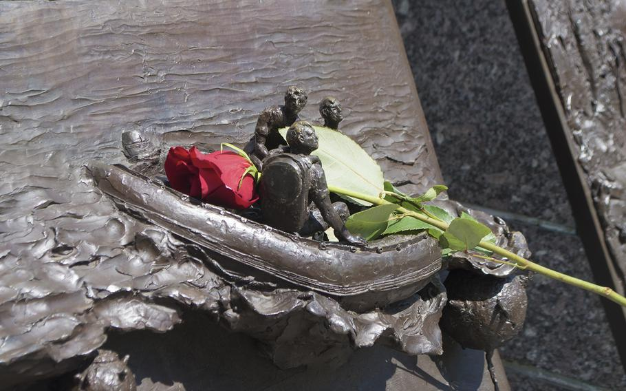 Navy Memorial on Memorial Day, May 29, 2017.