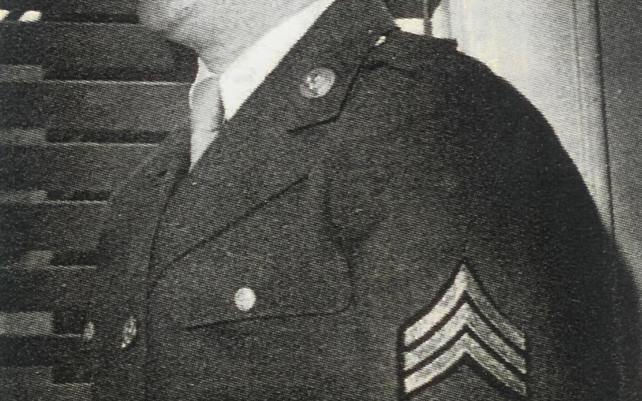 Harold Radish in his Army uniform.